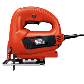 BLACK & DECKER 4.5-Amp Keyless Universal T-Shank Variable Speed Corded Jigsaw