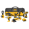DEWALT 6-Tool 18-Volt Lithium Ion Cordless Combo Kit