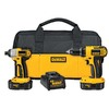 DEWALT 18-Volt Compact Drill and Impact Driver Cordless Combo Kit