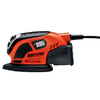 BLACK & DECKER 0.5-Amp Detail Power Sander