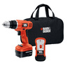 BLACK & DECKER 12-Volt 3/8-in Cordless Drill with Battery and Soft Case