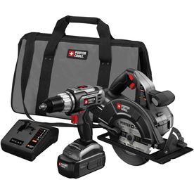 PORTER-CABLE 18-Volt Drill/Driver and Circular Saw Kit