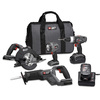 PORTER-CABLE 4-Tool 18-Volt Nickel Cadmium (NiCd) Cordless Combo Kit with Soft Case