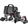 PORTER-CABLE 4-Tool 18-Volt NiCd Cordless Combo Kit