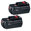 PORTER-CABLE Cordless 18-Volt NiCd Battery Dual Pack