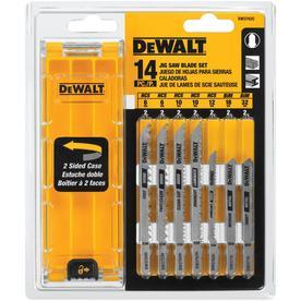 DEWALT 14-Pack T-Shank Jigsaw Blade Set