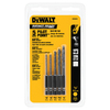 DEWALT 5-Piece Black Oxide Metal Twist Drill Bit Set