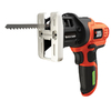 BLACK & DECKER 7-Volt Keyless Cordless Jigsaw Battery Included