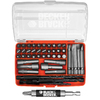 BLACK &amp; DECKER 52-Piece Black Oxide Metal Twist Drill Bit Set
