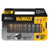 DEWALT 10-Piece 3/8-in Drive Standard Deep 6-Point Impact Socket Set with Case