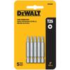 DEWALT 5-Pack 2-in Torx Screwdriver Bits