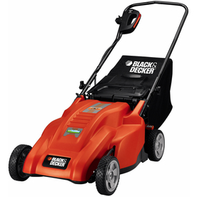 BLACK &amp; DECKER 12-Amp 18-in Corded Electric Push Lawn Mower
