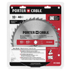PORTER-CABLE 10-in 40-Tooth Circular Saw Blade