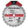 PORTER-CABLE 7-1/4-in 24-Tooth Circular Saw Blade