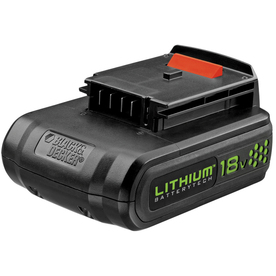 BLACK &amp; DECKER 18-Volt Lithium Cordless Tool Battery