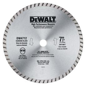 DEWALT 3-Pack 7-in Wet or Dry Continuous Diamond Circular Saw Blades