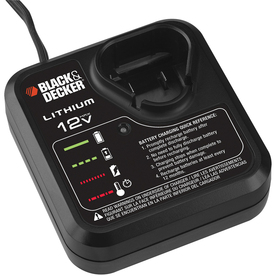 BLACK &amp; DECKER 12-Volt Power Tool Battery Charger