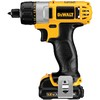DEWALT 12-Volt Lithium Ion 1/4-in Cordless Drill with Battery and Soft Case