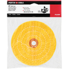 PORTER-CABLE 6-in Orange Firm Buffing Pad