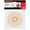 PORTER-CABLE 4-in White Polishing Wheel