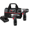 PORTER-CABLE 2-Tool 12-Volt Max Lithium Ion (Li-ion) Cordless Combo Kit with Soft Case