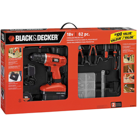 BLACK &amp; DECKER 18-Volt 3/8-in Cordless Nickel Cadmium Project Kit with Drill/Driver
