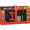 BLACK & DECKER 18-Volt 3/8-in Cordless Nickel Cadmium Project Kit with Drill/Driver