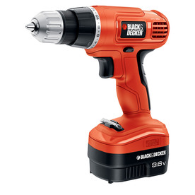 BLACK & DECKER 9.6-Volt 3/8-in Cordless Drill with Battery