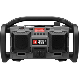 PORTER-CABLE 18Volt Cordless/120Volt Corded Jobsite Radio