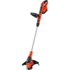 BLACK & DECKER 18-Volt 12-in Straight Cordless String Trimmer Edger Capable