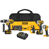 DEWALT 4-Tool 20-Volt Max-Volt Lithium Ion Cordless Combo Kit