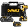 DEWALT 20-Volt 1/4-in Cordless Variable Speed Impact Driver with Hard Case