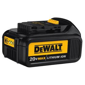 DEWALT 20-Volt Max-Volt 3-Amp Hours Power Tool Battery