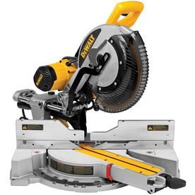 DEWALT 12-in 15-Amp Dual Bevel Sliding Compound Miter Saw with Free Stand