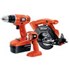 BLACK & DECKER 3-Tool 18-Volt Cordless Combo Kit