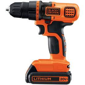 BLACK &amp; DECKER 20-Volt 3/8-in Cordless Lithium Drill/Driver