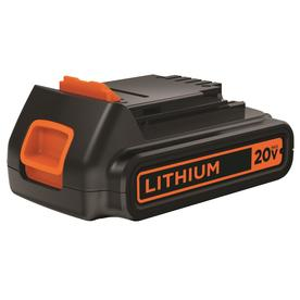 BLACK &amp; DECKER 20-Volt Lithium Cordless Tool Battery