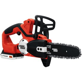 BLACK & DECKER 20-Volt Lithium Ion (Li-ion) 8-in Cordless Electric Chain Saw