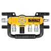 DEWALT Quadraport Air Line Splitter with Regulator and 3/8-in Couplers