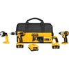 DEWALT 4-Tool 18-Volt Lithium-Ion Cordless Combo Kit