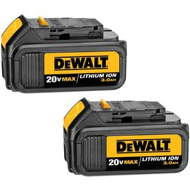 DEWALT 2-Pack 20-Volt Lithium-ion Cordless Tool Battery