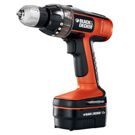 BLACK & DECKER 12-Volt 3/8-in Cordless Nickel Cadmium Smart Select Drill