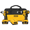 DEWALT 2-Tool 18-Volt Lithium Ion Cordless Combo Kit