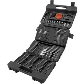 BLACK & DECKER 150-Pack Twist Drill Bit Set