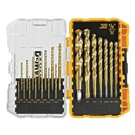 DEWALT 21-Pack Titanium Twist Drill Bit Set