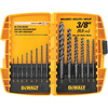 DEWALT 14-Piece Black Oxide Metal Twist Drill Bit Set