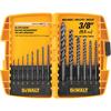 DEWALT 14-Pack Black Oxide Twist Drill Bit Set