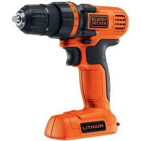 BLACK &amp; DECKER Number Of Batteries Included 7.2-Volt 3/8&#034; Cordless 7.2-Volt Lithium Ion Drill/Driver