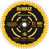 DEWALT Precision Trim 7-1/4-in Standard Tooth Carbide Tooth Circular Saw Blade