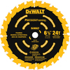 DEWALT Precision Trim 6-1/2-in 24-Tooth Circular Saw Blade